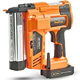 VonHaus Cordless Nail Gun/Electric Nailer Stapler 2 in 1 Staple Gun with in Built Air Compression 18V Max. 2Ah (2,000mAh) Li-ion Battery - Heavy Duty - Includes 200 Nails/Staples Model no. 15/220