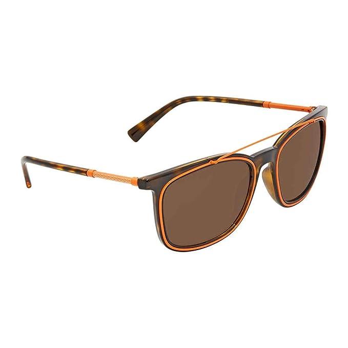 Versace 0Ve4335 Gafas de sol, Havana, 56 para Hombre: Amazon ...