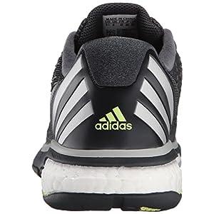 adidas Performance Women's Energy Volley Boost 2.0 W Shoe,Dark Grey/Tesime/Frozen Yellow,7.5 M US