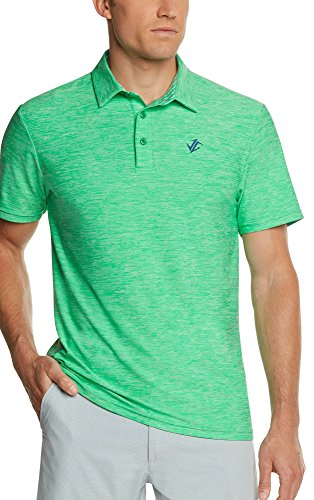 - Jolt Gear Golf Shirts Men - Dry Fit Short-Sleeve Polo, Athletic Casual Collared T-Shirt