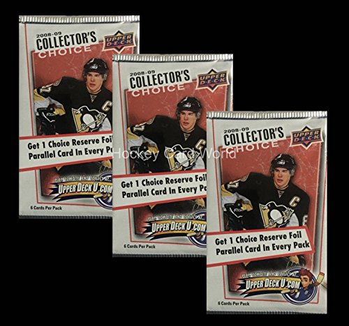 2008-09 Upper Deck Collectors Choice Hockey Hobby Pack x3- Look for Stamkos Rookie 09 Upper Deck Collectors
