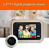Ounice Door Camera Security System X8 2.4 inch Color Screen HD Door Camera 145 ° Screen Viewer