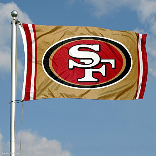 WinCraft San Francisco 49ers Logo Flag and Banner