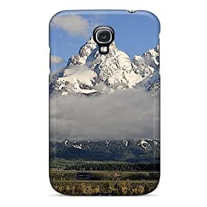 Durable Defender Case For Galaxy S4 Tpu Cover(gr Teton Valleyview)