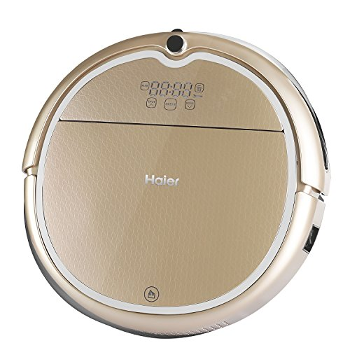Haier Robot Vacuum Cleaner Floor Cleaner with Self Charging and Wet Mop with Remote Control Gold (Vacuum Cleaner Remote Control compare prices)