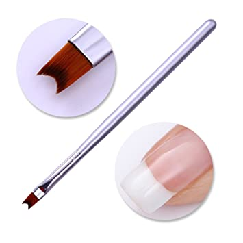 Amazon Coulorbuttons 1pc French Nail Tip Brush Acrylic Silver