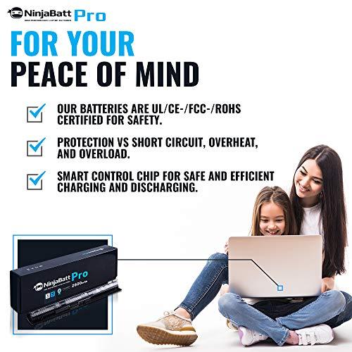 NinjaBatt Pro Battery for HP KI04 800049-001 TPN-Q160 TPN-Q158 TPN-159 TPN-Q161 TPN-Q162 HSTNN-LB6R HSTNN-DB6T HSTNN-LB6S 800010-421 – Samsung Cells [4 Cells/2600mAh/38Wh] by NinjaBatt (Image #7)