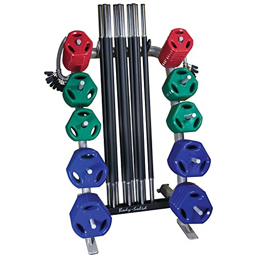 Body Solid Tools GCRPACK Cardio Barbell Pack, 10-55''/20-1''/20-2.5 lb/20-5 lb/20-10 lb, 10-55''/20-1''/20-2.5 lb/20-5 lb/20-10 lb by Body-Solid Tools