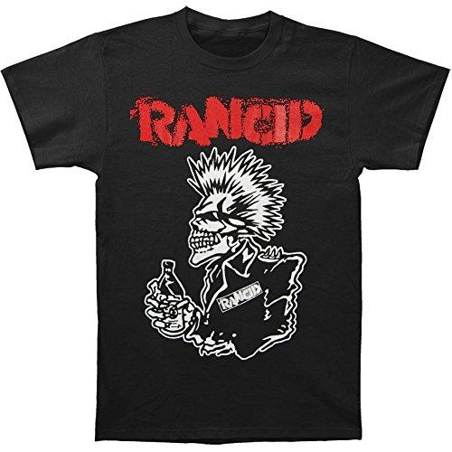 Rancid Men's 40 Oz Black T-shirt Black