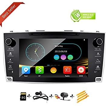 Amazon com: In Dash Double Din Touch Screen GPS Navigation