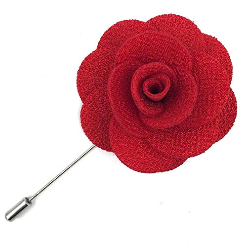 Assorted Fashion Mens Lapel Flowers Handmade Boutonniere Stick Pin Wedding New ()