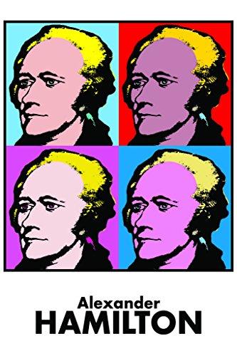 (Alexander Hamilton Pop Art Print Mural Giant Poster 36x54 inch)