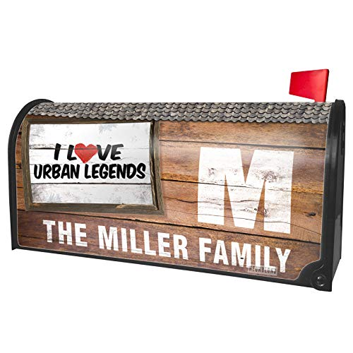 NEONBLOND Custom Mailbox Cover I Love Urban Legends