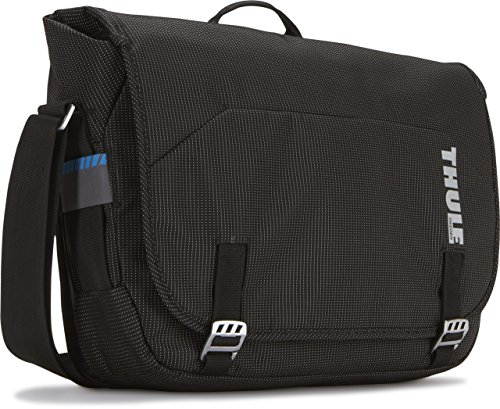 Thule Crossover TCMB-115 15.4-Inch Macbook/Pro/Air or PC Messenger Bag (Black) by Thule
