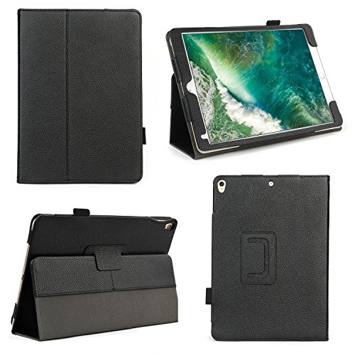 Bear Motion for iPad Pro 10.5 Inch - Premium Genuine Leather Case for iPad Pro 10.5 Inch with Auto Sleep Wake Function