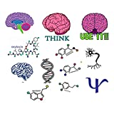 Psychology Temporary tattoo club or classroom pack