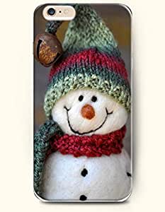 SevenArc Apple iPhone 6 Plus case 5.5 inches - A Happy Hand Made Snowman