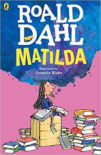 Amazon Fr Matilda Version Anglaise Roald Dahl Quentin