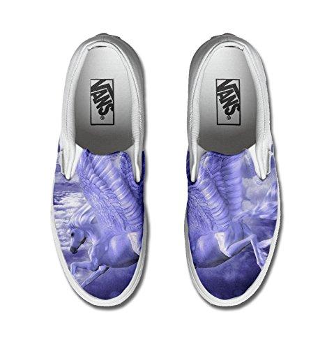 Vans Original, PRINTED ARTISANAL, Sneakers Basses mixte adulte Multicolor Pegaso