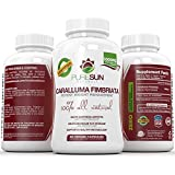 Caralluma Fimbriata Appetite Suppressant by Pure Sun Naturals ● Powerful 45 Day Supply ● Maximum Strength 10:1 Natural Cactus Extract per 1000 mg Serving ● 90 Capsules