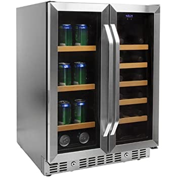 Amazon Com Edgestar 36 Bottle Built In Dual Zone French