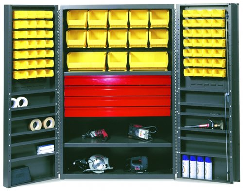 Valley Drawer Chest (Valley Craft F88129A0 High Capacity Utility Drawer Cabinet with Deep Door, 52 Bins Capacity, 36