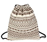 DANUC Gym Sack Bag Drawstring Backpack Sport Bag for Men & Women School...