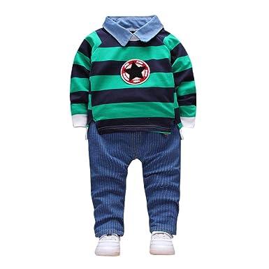 Kleidung Sets 2-7y Kinder Baby Jungen Mädchen Kleinkind Mädchen Hoodie Kleidung Set T-shirt Top Hosen Hosen Outfit Mutter & Kinder