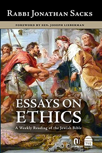 B.e.s.t Essays on Ethics: A Weekly Reading of the Jewish Bible<br />EPUB