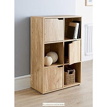Regal Mit Türen stehend cube regal mit türen 6 cube regal büro aufbewahrung zuhause