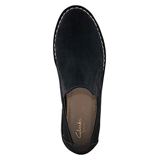 Clarks Womens Cabaret City Loafer,Black Suede,US 9.5 M: Amazon.es: Zapatos y complementos