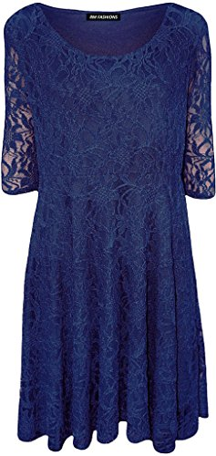 blau Kleid Islander Cocktail Damen Fashions denim PaPq7S0w