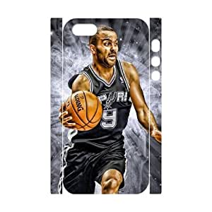 Iphone 5,5S 3D DIY Phone Back Case with Tony Parker Image