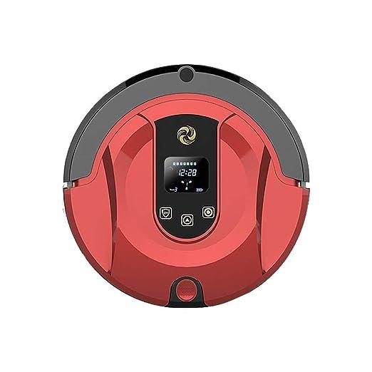 QQXICHENQI Robot Aspirador con Tanque de Agua Barrer y Fregar con ...