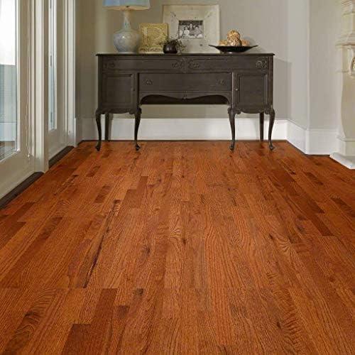 Sample 2 1//4 Gunstock Oak Prefinished Solid Wood Floor by Hurst Hardwoods