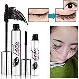 4D Fiber Mascara Cream,HUBEE Lash Cold Waterproof Long-Lasting Style Eyelash Creay Eye Extension Makeup (A)