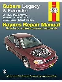 Amazon repair maintenance books engines transmissions subaru legacy 2000 2009 forester 2000 2008 repair manual haynes repair manual fandeluxe Choice Image