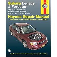 Amazon best sellers best vehicle owners manuals maintenance guides subaru legacy 2000 2009 forester 2000 2008 repair manual haynes repair manual fandeluxe Choice Image