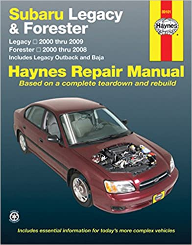 Subaru legacy 2000 2009 forester 2000 2008 repair manual haynes subaru legacy 2000 2009 forester 2000 2008 repair manual haynes repair manual 1st edition fandeluxe Choice Image
