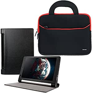 "Evecase 885157773010 10.1"" Negro, Rojo funda para tablet - fundas para tablets (Lenovo, Yoga Tablet 10, 25,6 cm (10.1""), Negro, Rojo)"