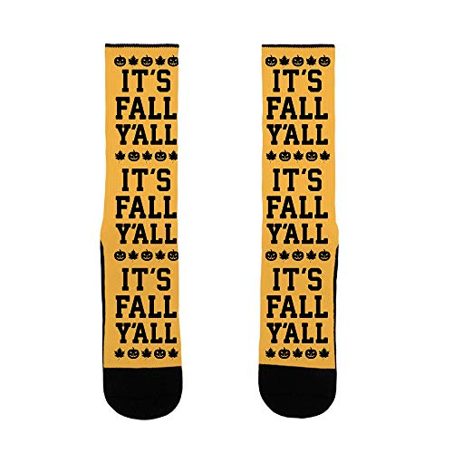 LookHUMAN It's Fall Y'all US Size 7-13 Socks]()