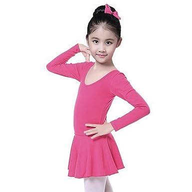 157502404 Amazon.com  Lanhui Toddler Girls Dancewear Dress Gauze Leotards ...