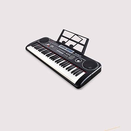 QXMEI Teclado para Niños Teclado De Piano De 61 Teclas con ...