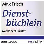 Dienstbüchlein   Max Frisch