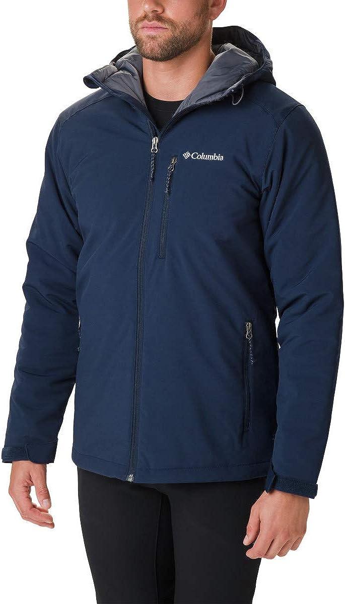 Columbia Men's Gate Racer Softshell Jacket, Collegiate Navy, Medium at  Men's Clothing store