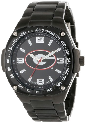 Game Time ' Warrior' Quartz Metal and Alloy Casual Watch, Color:Black (Model: COL-WAR-GEO) ()