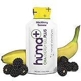 Huma PLUS – Chia Energy Gel, Blackberry Banana, 24 Gels – Natural Electrolyte Enhanced Energy Gel Review