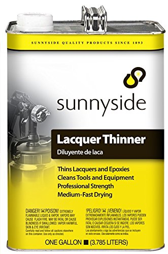 Epoxy Thinner - Sunnyside Lacquer and Epoxy Thinner, Gallon, 6-Pack, 457G1