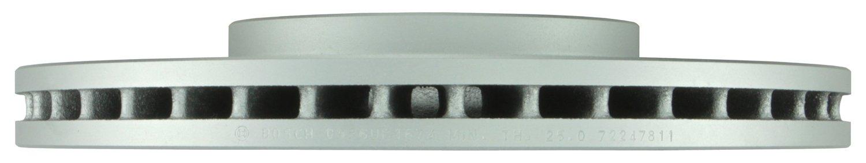 Bosch 45011424 QuietCast Premium Disc Brake Rotor For 2008-2011 Saab 9-3; Front