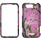 Camo Pink GHT Pine Motorola Photon Q LTE XT897 Sprint Case Cover Phone Snap on Cover Case Faceplates